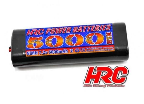 Akku 7.2V 5000mAh NiMH Stick Tamiya - HRC 01650S