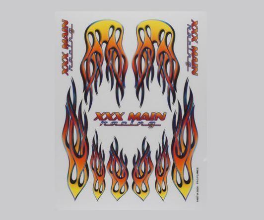 Aufkleber Pro Flames - XXXMain S009