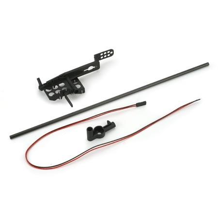 Chassis & Heckrohr für Blade CP - E-Flite EFLH1166