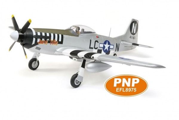 Mustang P-51D Spw.120cm PNP - E-Flite EFL8975