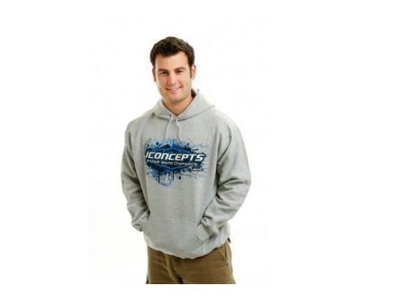 JConcepts Sweatshirt - 2009 (hellgrau/XL) - JConcepts 2042XL