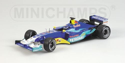 Sauber Petronas C22 H.H.Frentzen1:18*Ausstelmodell - Minichamps 100030010