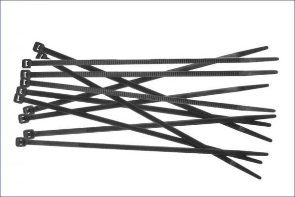 Kabelbinder (M) schwarz {18} - Kyosho 1701BK