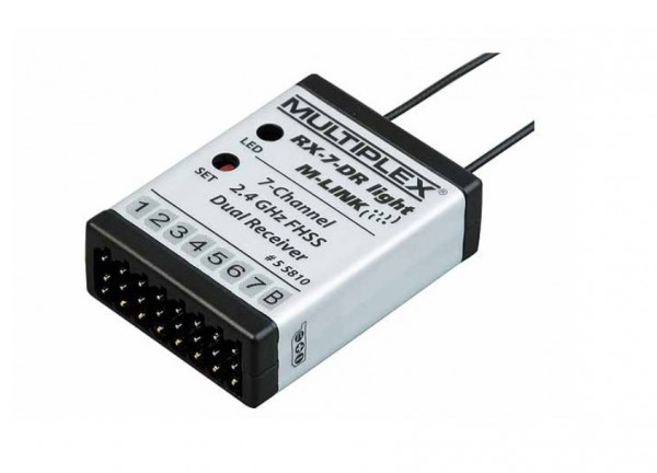 Empfänger RX-7-DR light M-LINK Multiplex - Multiplex 55810