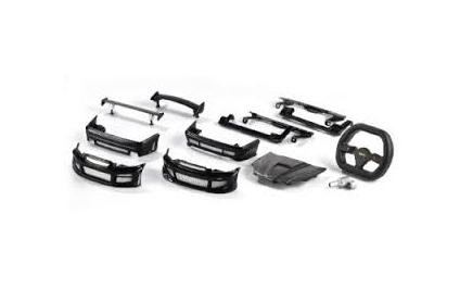 Karosserie-Set Honda Civic schwarz '59502' - Carson 59710