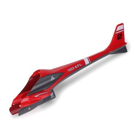 Rumpf hinten rot 'CXII' - E-Flite EFLH1256