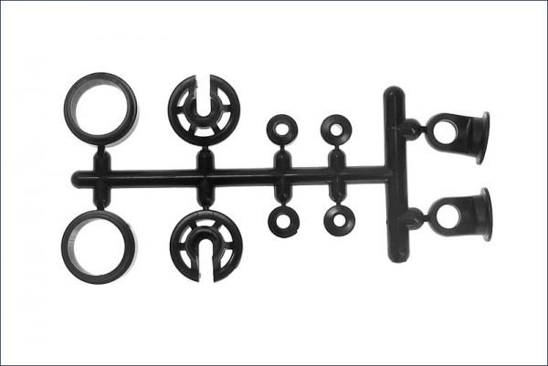 Kunststoffteile zu Dämpfer - Kyosho W5127