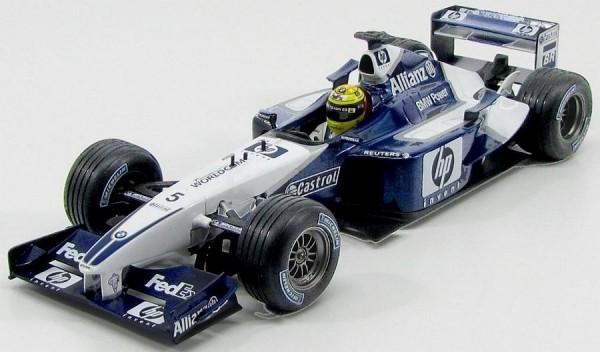 Williams F1 R.Schumacher 02 1/18 - Hot Wheels 54624