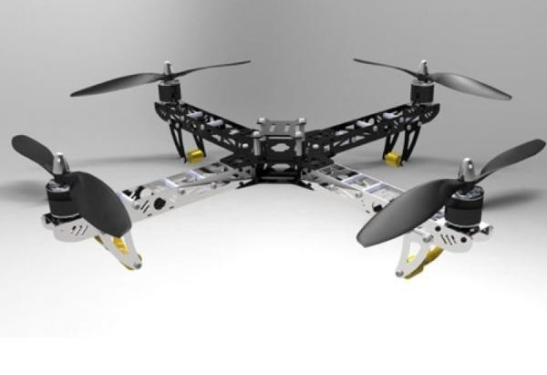 Multicopter ST450 ARF Bausatz 'Bumblebee' - nVision 004