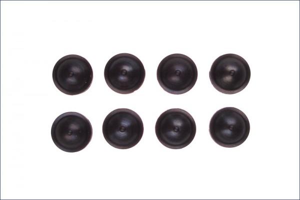 Dämpferdichtung schwarz MEDIUM {8} - Kyosho W6006