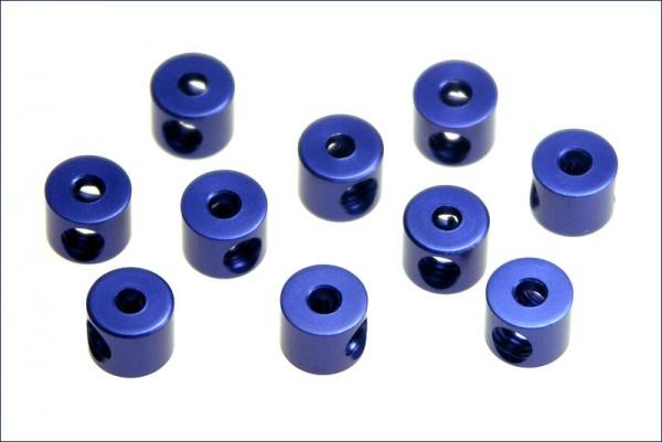 Stellring ALU blau 2mm - Kyosho W0151