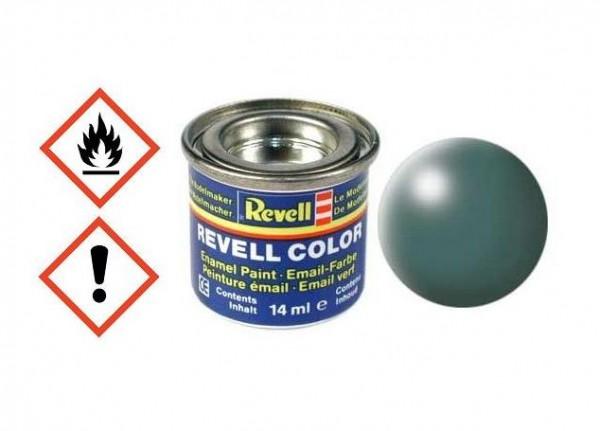 Laubgrün seidenmatt RAL 6001 14ml Dose - Revell 32364