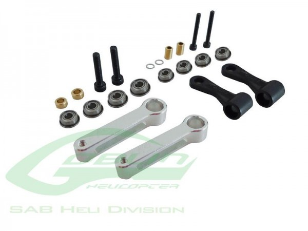 Anlenkhebelshebel Set (HPS) '500' - SAB-Heli H0204-S