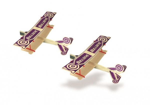 Freiflugmodell Bullseye Balsa Glider Spw.29cm {2} - Guillows 43T