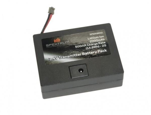 Akku für DX8e, DX6 2000mAh Li-Io TX - Spektrum SPMA9602