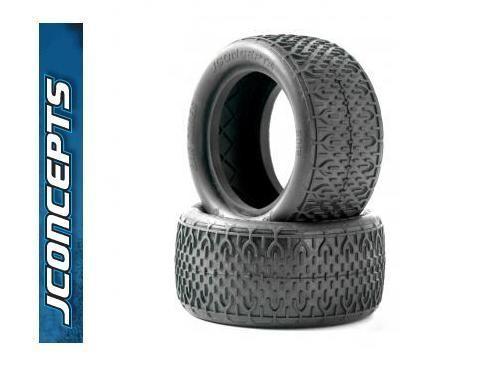 "Reifen hinten ""BAR CODES"" 'blau Soft' 1:10 Buggy - JConcepts 3016-01"