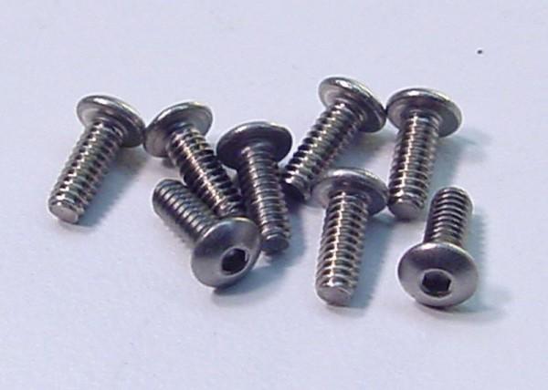 """Schrauben Rundk. 2-56x1/4"""" ST - CRC 1259"""