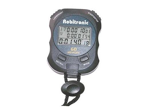 Stoppuhr 60 Rundenzeiten - Robitronic RS130