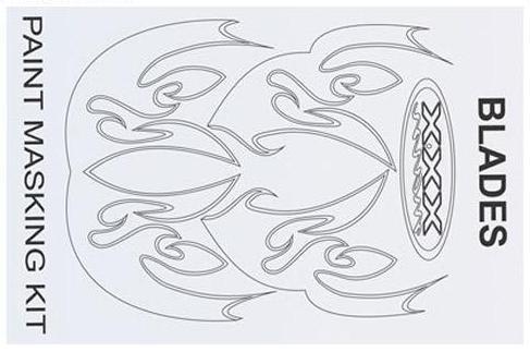 Lackierschablone Blades - XXXMain M047L