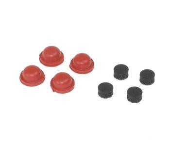 Dämpfermembranen weich (4+4) - Serpent 909446