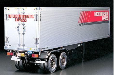 Auflieger Tamiya Trailer / Container 40ft. - Tamiya 56302
