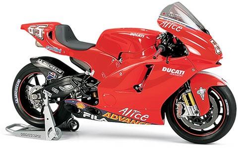 Ducati Desmosedici 1:12 Nr. 65 - Tamiya 14101