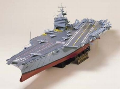 USS Enterprise Flugzeugträger Bausatz - Tamiya 78007