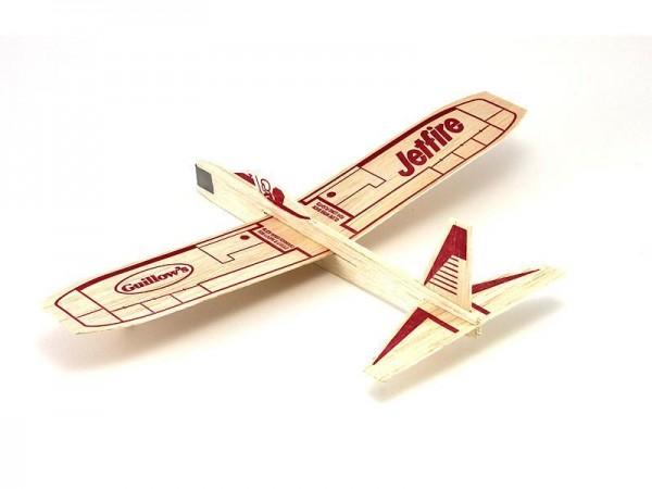 Freiflugmodell Jetfire Balsa Glider Spw.30cm - Guillows 30