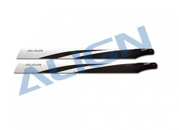 Rotorblätter 325 3G schwarz 'T-Rex450' - Align HD320ET