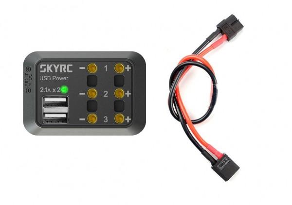 Verteilerbox mit XT60 Stecker - SKYRC 600114-03