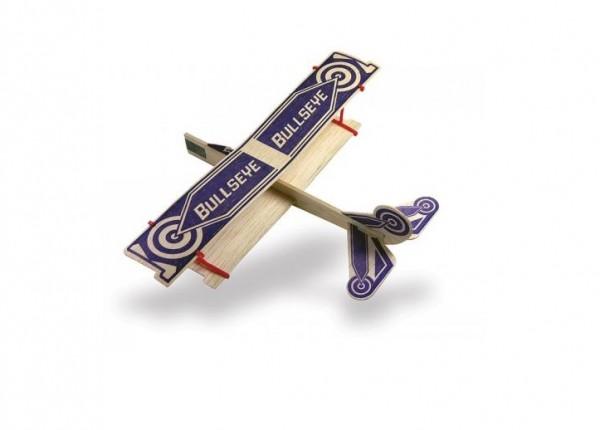 Freiflugmodell Bullseye Balsa Glider Spw.29cm - Guillows 43