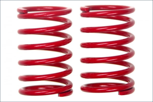 Federn hinten (rot/4.8x1.8) - Kyosho FMW15-4818