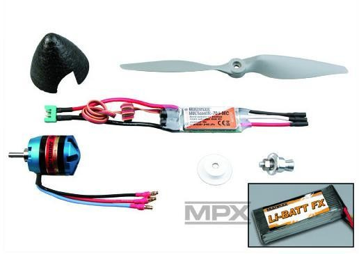 "Antriebs-Set & LiPo ""DogFighter Ultra"" - Multiplex 333657"
