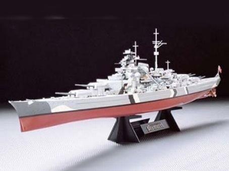 Bismarck German Battleship 1/350 - Tamiya 78013