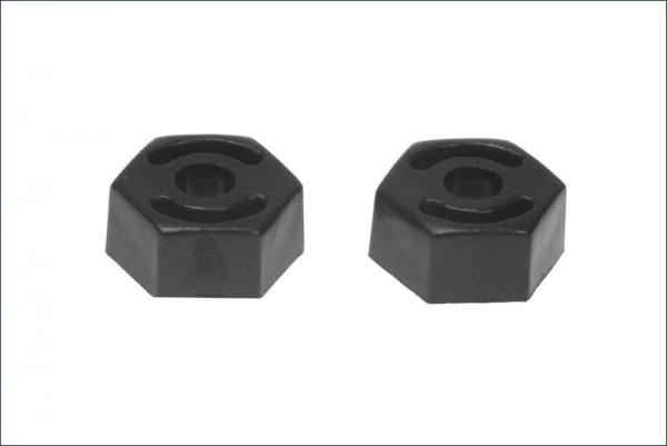 Radmitnehmer 12mm 6Kt. für Alpha Chassis - Kyosho AE26