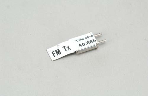 Quarz TX/FM 40.665 K.50 - Futaba 103-050