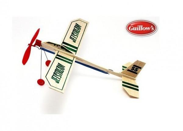 Freiflugmodell Jetstream Balsa Glider Spw.30cm - Guillows 55