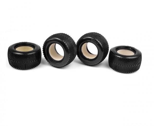 Reifen mit Einlagen 'MT18T' {4} - XRay 389610