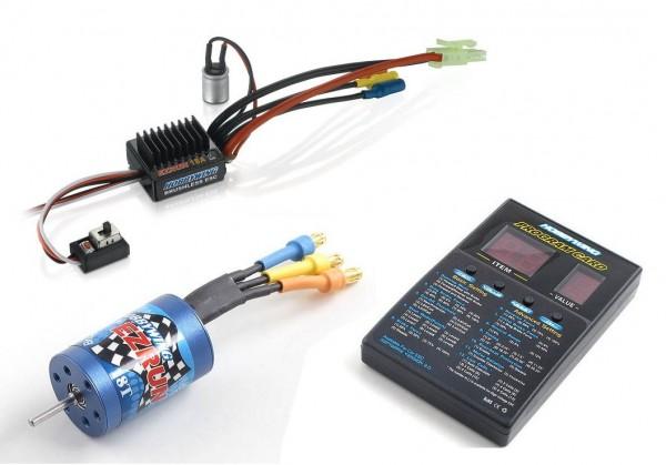 Regler, Motor-Set 2030-18T für 1/18 - Hobbywing 81030010