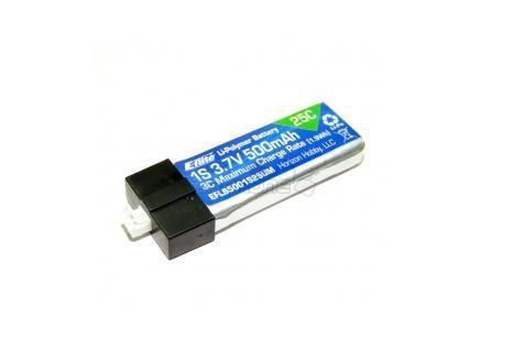 LiPo 3.7V 500mAh 25C für Glimpse - E-Flite EFLB5001S25UM