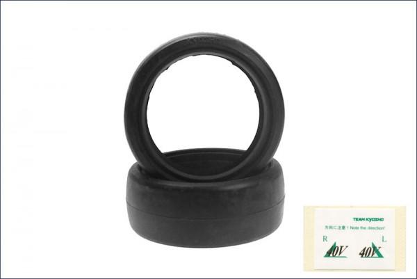 Reifen V-Slick 24mm 40° - Kyosho 92014-40B
