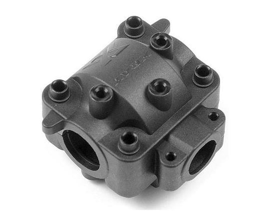 Getriebebox vorn & hinten 'M18' - XRay 385060