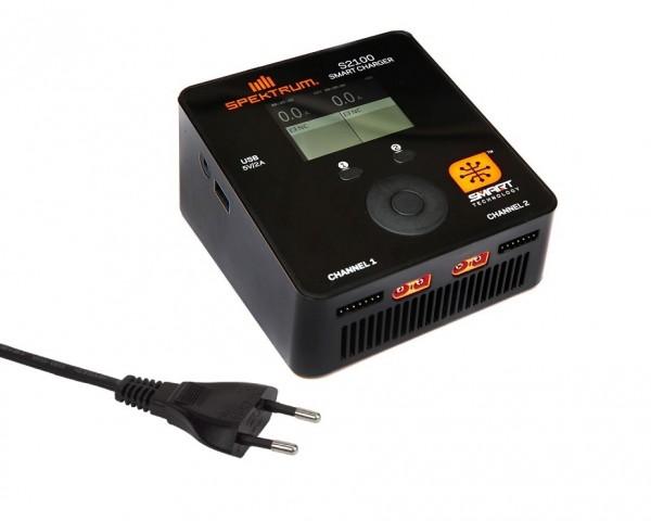 Ladegerät 2x100W Smart S2100 AC - Spektrum SPMXC1010