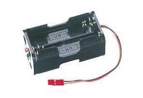 Batteriebox 4AA mit BEC Stecker - Futaba ZX1338