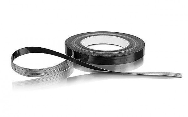 Klebeband verstärkt 16mm x 50Meter schwarz - Hudy 107870