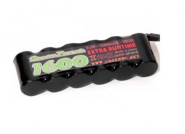 Akku 7.2V 1600mAh 2/3A 1/2Tam Stecker - HRC 03616N