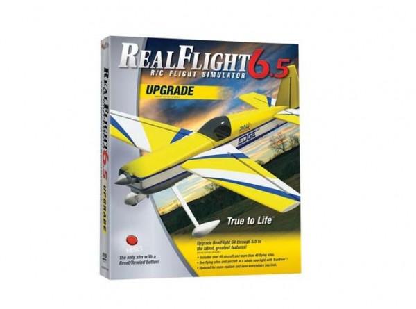 Simulator RealFlight 6.5 Upgrade ab G4 Version - RealFlight MZ4488