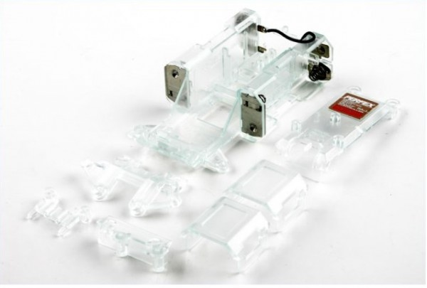 Chassis Skeleton klar für MR01 MiniZ - Kyosho MZW11C