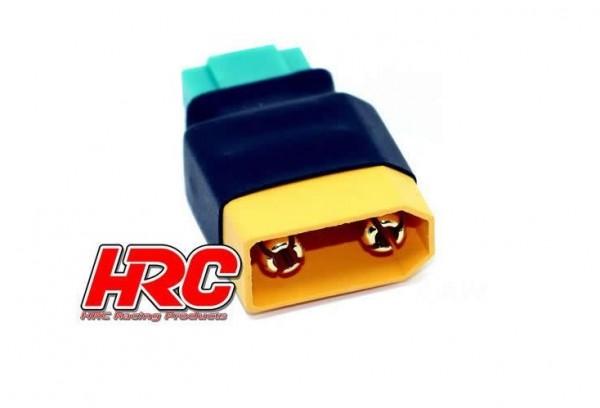 Adapter XT90 auf MPX Stecker kompakt - HRC 9149C
