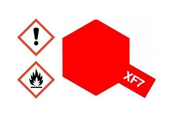 XF-7 Acrylfarbe rot matt 10ml - Tamiya 81707